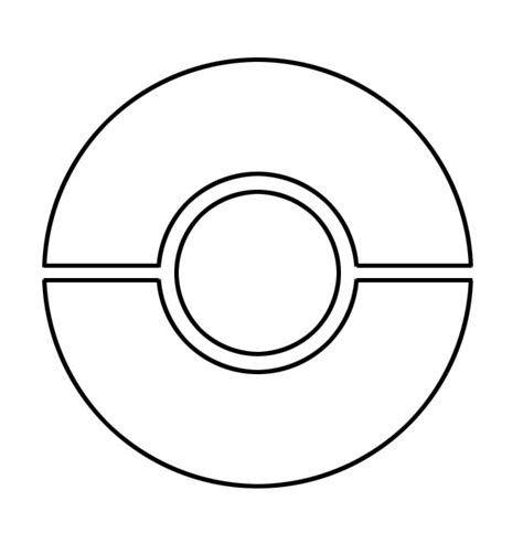 pokeball template pokeball stencil by jaeteaell on deviantart