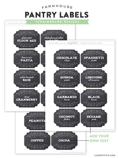 printable pantry labels 58 best images about homekeeping on pinterest