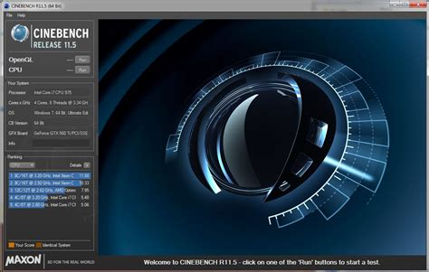 cine bench how to benchmark your pc pcworld