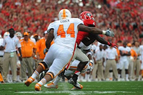 maurice couch after being declared ineligible for oregon game tennessee