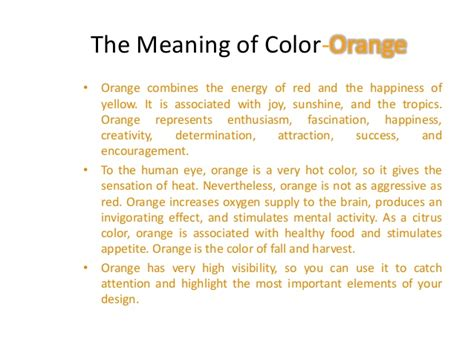 meaning of the color orange green colorintro