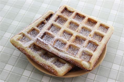 how to make belgian waffles 11 steps with pictures