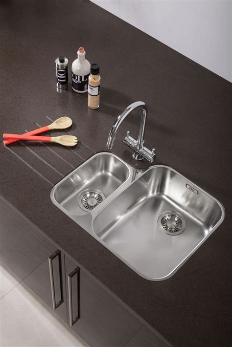 Bushboard's Encore solid surface in Espresso Glass shown