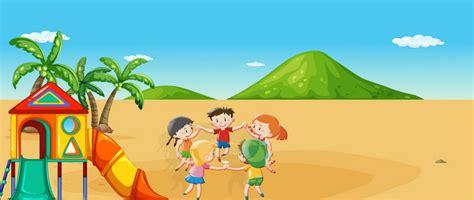 imagenes animadas vacaciones playa vacaciones de verano playa bandera azul de dibujos