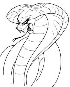 printable coloring page king cobra cobra 11 animaux coloriages 224 imprimer