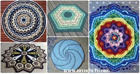 crochet circle blanket  patterns