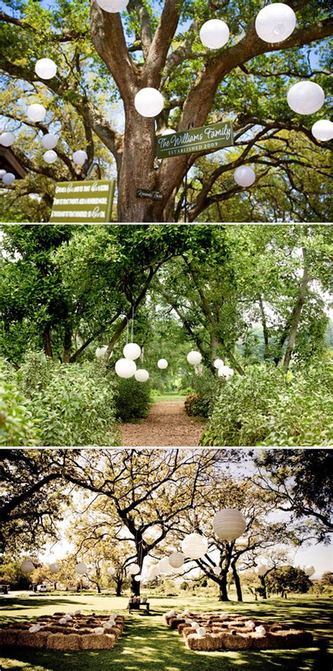 garden wedding decorations image 96375 polka dot