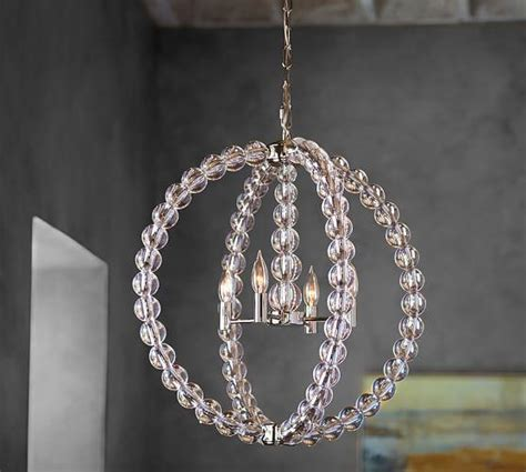 Alton Silver Chandelier Sphere Chandelier With Crystals