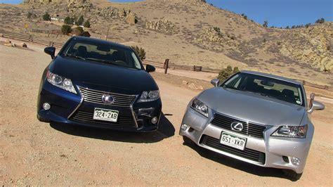 lexus ls vs gs 2013 lexus es vs gs 0 60 mph mashup review what s the