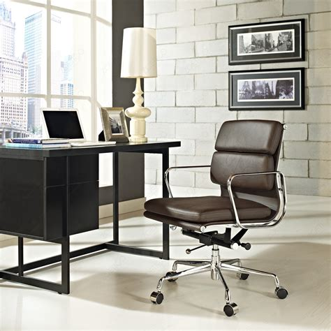 Charles Eames Office Chair Design Ideas Eames Office Chair Soft Pad Management Low Back