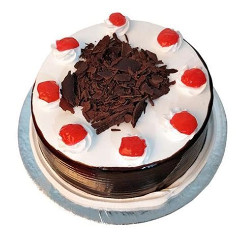 Send Black Forest Cake Half kg Online from BookMyFlowers