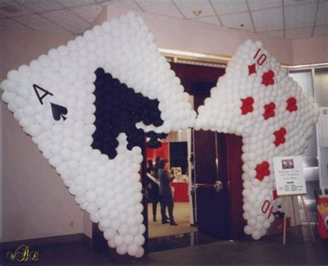 card themed decorations 17 best images about vegas style ideas on