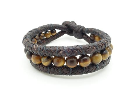 Leather Handmade Bracelets - handmade leather and bracelets 8 quot