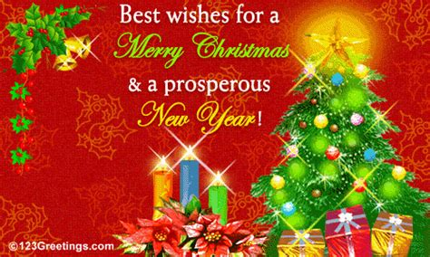 merry christmas   prosperous  year  business  ecards