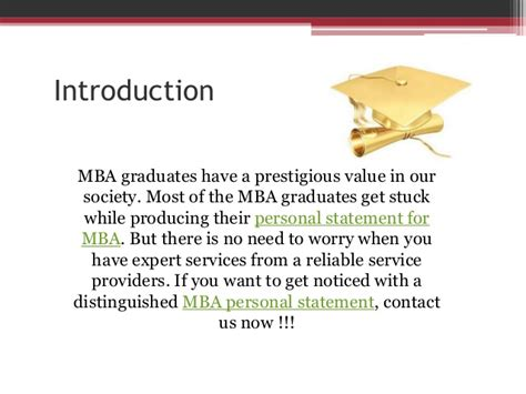 Most Valued Mba by Mba Personal Statement Org