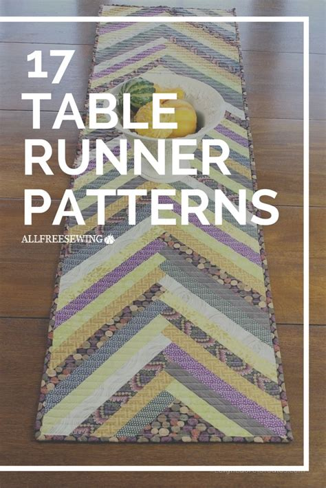 how to sew a table runner 17 best ideas about table runner pattern on