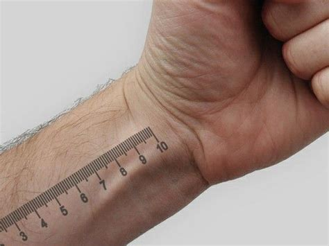 ruler tattoo 17 best images about ruler on metric system