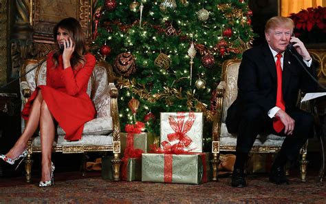 donald trump christmas speech not first lady like melania trump criticised for