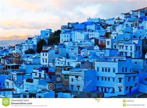 Blue City Morocco Medina Of Chefchaouen Morocco Stock Image Image 50530449