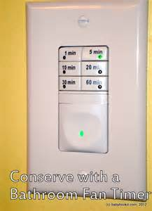 timer switch for bathroom fan baby toolkit conserve your energy and your home s with