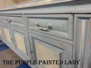 How To Glaze White Kitchen Cabinets Differences Between Annie Sloan S Blue Chalk Paint