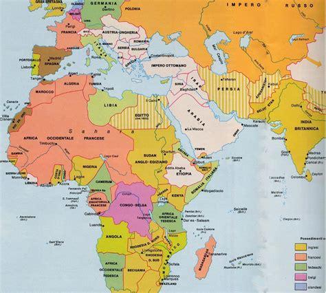 lafrica mappa cartina geografica italia nord africa