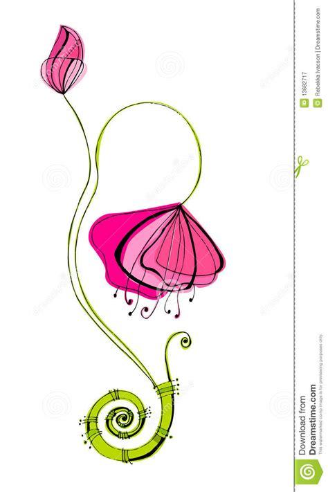imagenes de flores ilustradas flores lindas ilustradas fotograf 237 a de archivo libre de