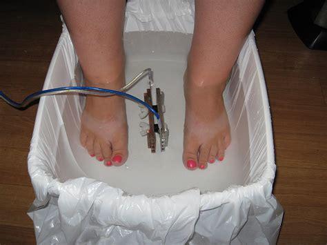 Liver Detox Foot Bath by Ionic Detox Foot Bath Nail Angelo S