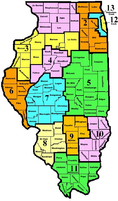 us map illinois state country map state of illinois