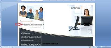 membuat iklan barang sekilas info cara membuat leaflet brosur dengan