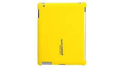 back cover case for apple ipad 2 (yellow) discoazul.com