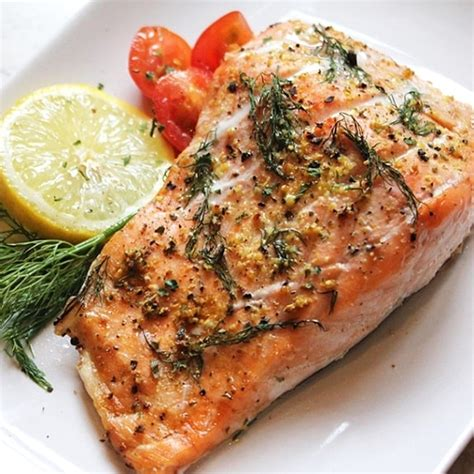 salmon in oven oven baked marinated salmon steaks magic skillet