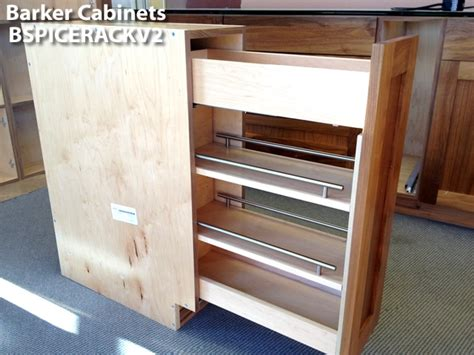 Spice Rack For Cabinet by Pullout Spice Rack Cabinet