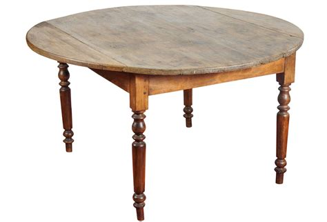 antique table with leaf antique farm drop leaf table omero home