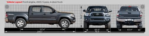 Toyota Tacoma Width 2012 Truck Of The Year Contenders Photo Gallery Motor Trend
