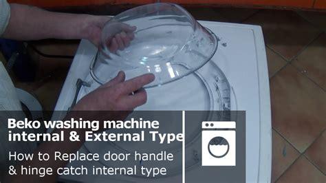 Beko Washing Machine Door Handle & Hinge Catch