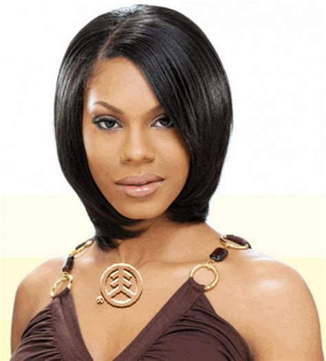 beautiful short hairstyles with weave for black women