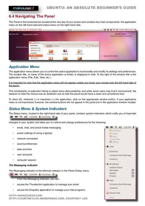 ubuntu guide beginners ubuntu an absolute beginners guide