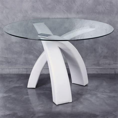 mesa comedor redonda cristal mesa cristal redonda comedor te imaginas