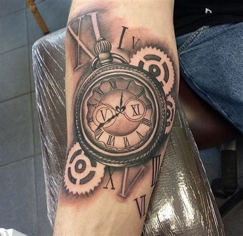 stopwatch tattoo designs steunk stopwatch tattoos
