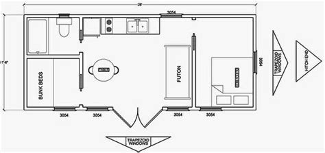 10 x 20 cabin floor plan cabin floor plans floor plans and cabin on pinterest