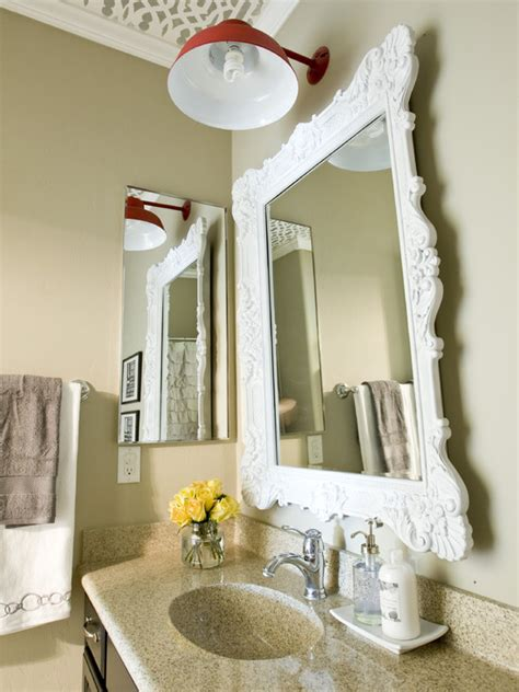 hanging a bathroom mirror bathroom design some helps in hanging a bathroom mirror