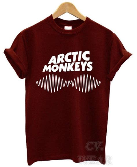 Kaos Band Arctic Monkey Merchandise Official 23 arctic monkeys t shirt soundwave am from teeisland1 on etsy