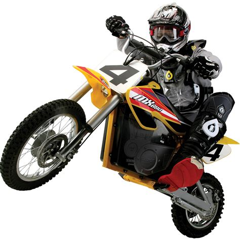 electric motocross bike razor mx650 dirt rocket electric motocross bike ebay