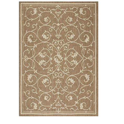 home decorators collection tendril taupe chagne 3 ft 9