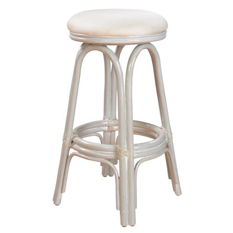 swivel wicker bar stools vanessa indoor swivel rattan wicker 30 quot bar stool in