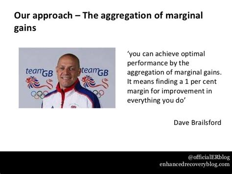 Dave Brailsford Marginal Gains Quote