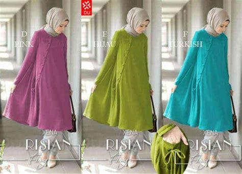 Blouse Pink Blouse Wanita Spandek blouse wanita risian blouse baju muslim