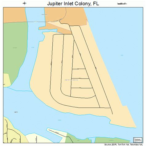jupiter inlet colony florida fl population data jupiter inlet colony florida street map 1235900