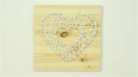 String Wall Decor - diy a string wall